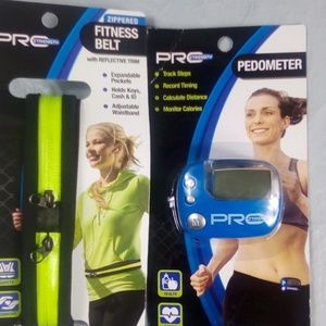 Other - Pedometer and Zippered Fitness Belt